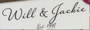 Font of Will & Jackie??