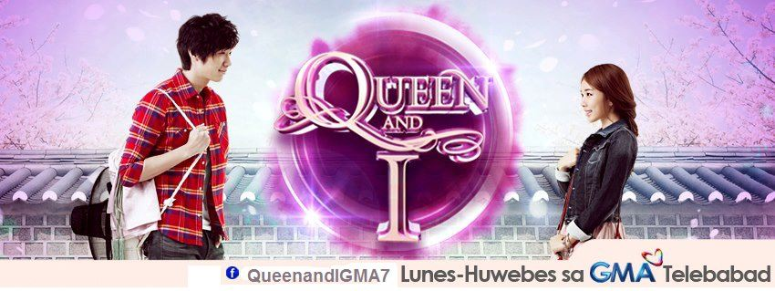 QUEEN AND I font