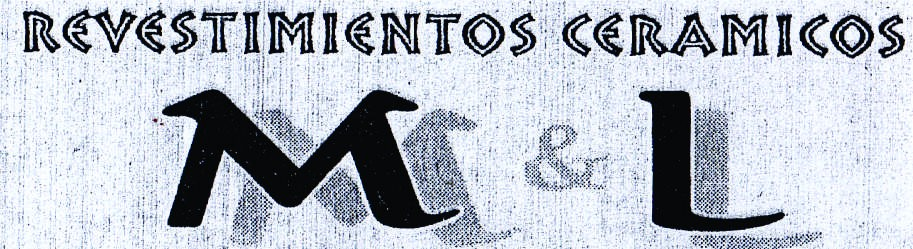 "What is the font please!!  1) ""REVESTIMIENTOS""  2) ""M L"""