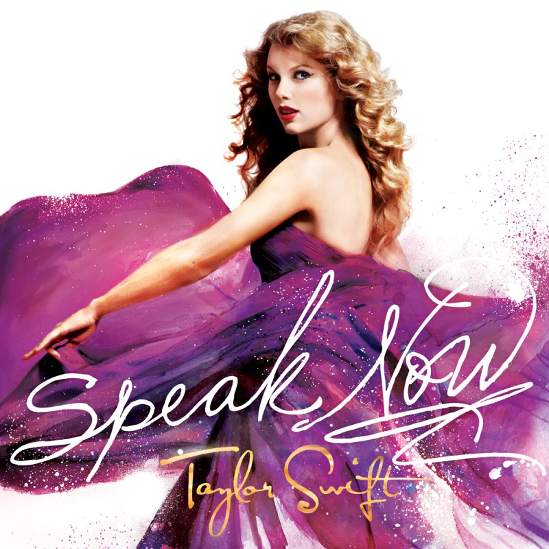 Speak Now font?