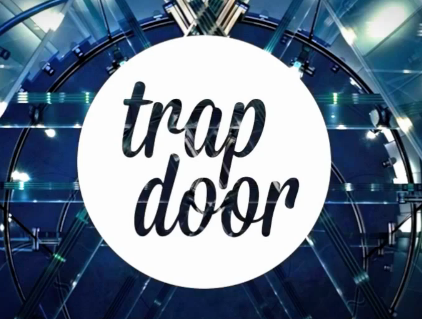 "What's the font for ""Trap Door?"""