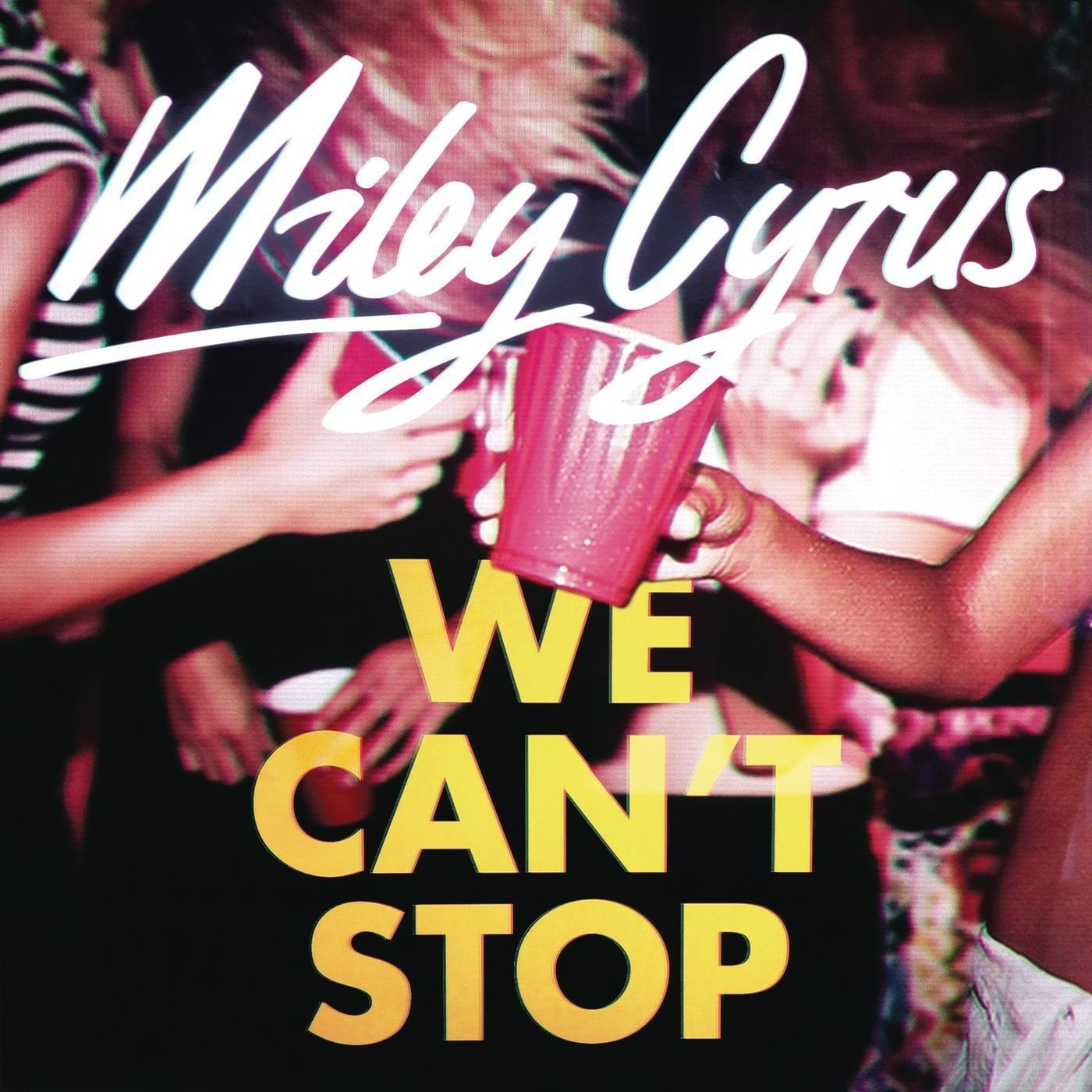 Miley Cyrus [We Can't Stop] Font?