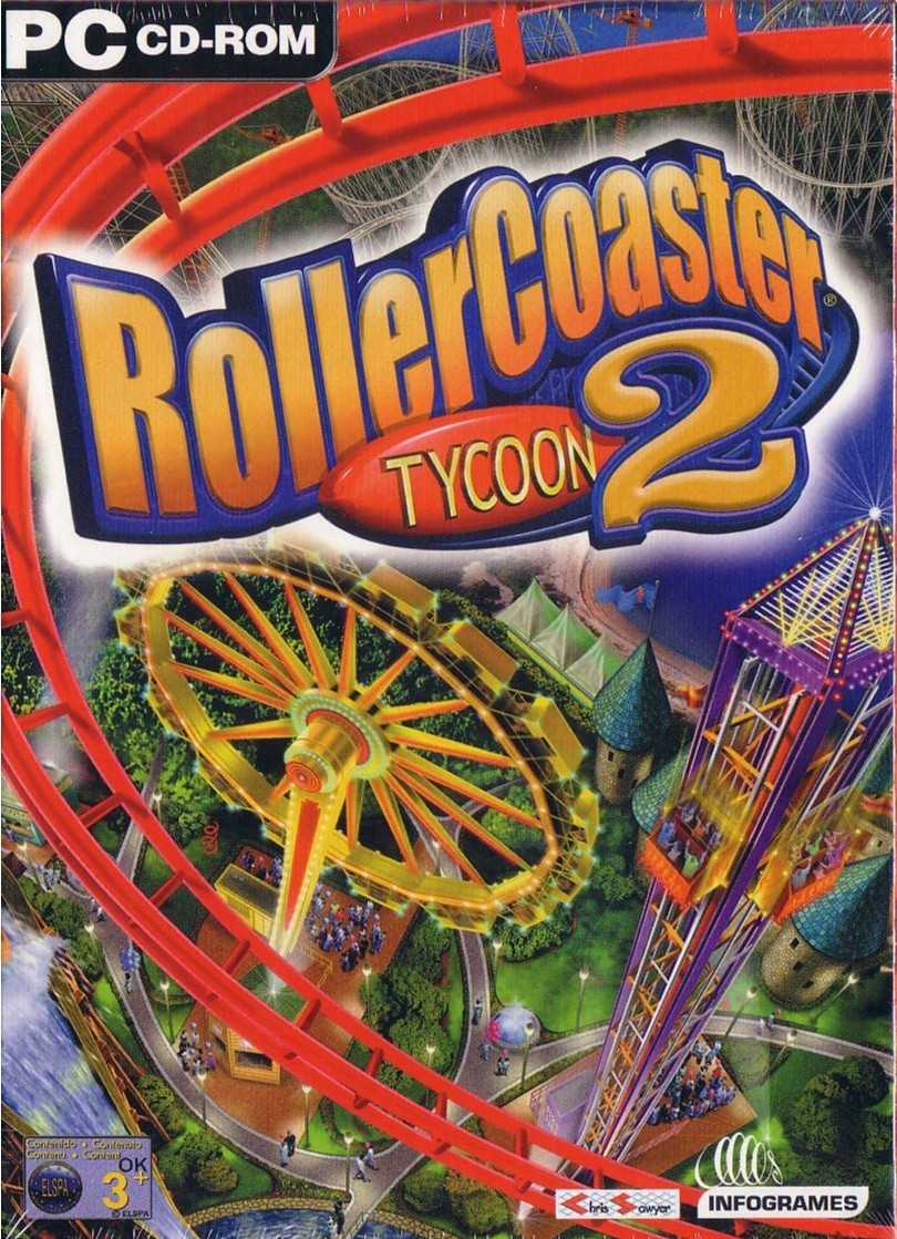 RollerCoaster Tycoon game font ?!
