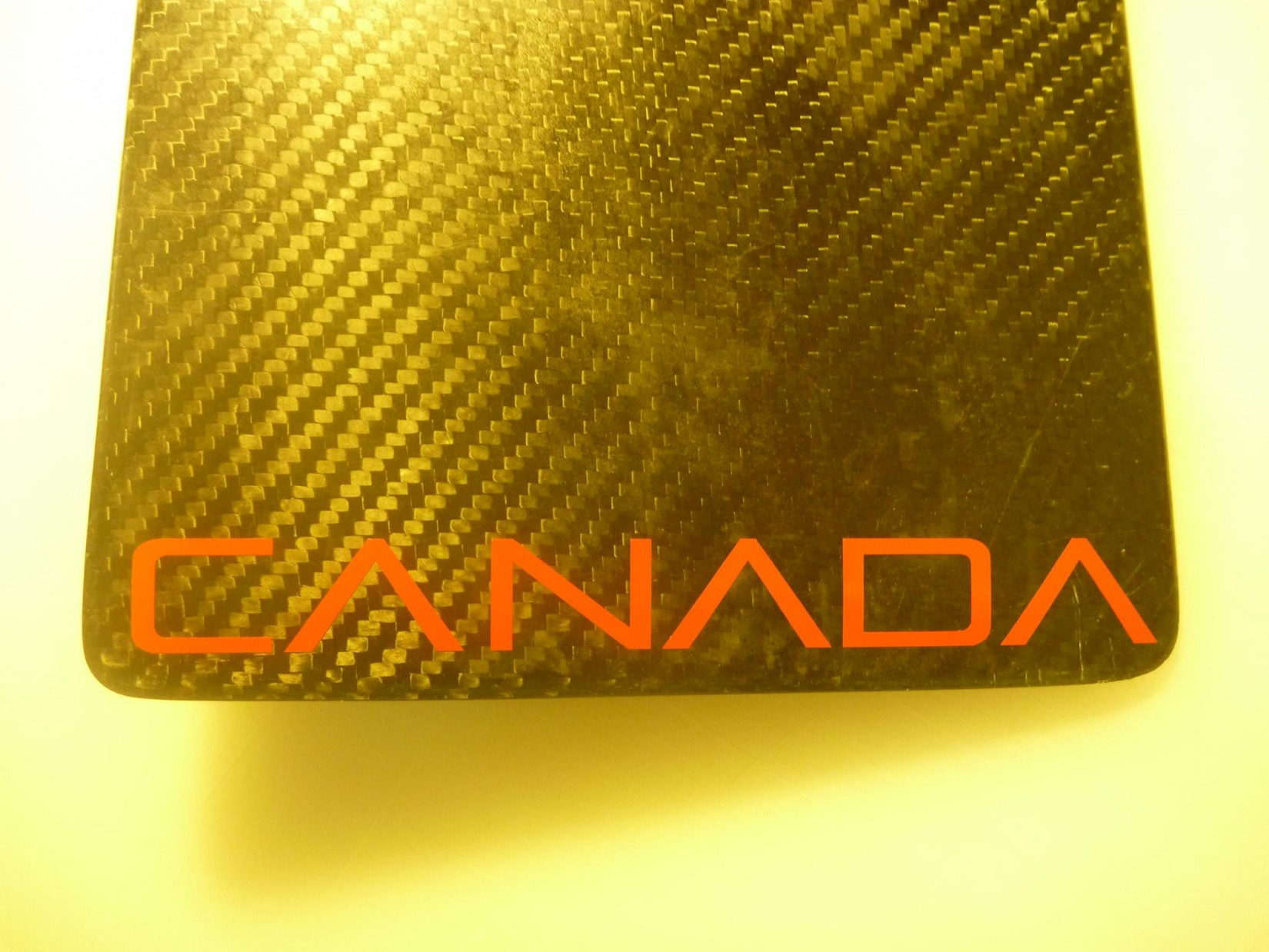 "Font of ""Canada"""