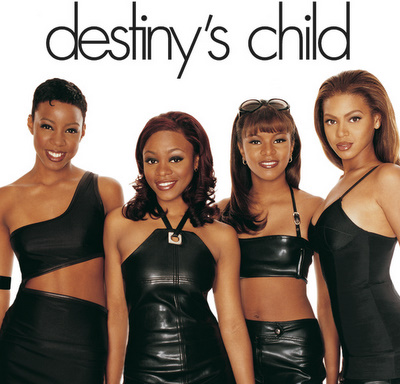 The font as seen in Destiny's Child's debut album