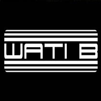 Wati b, french music label :) What is that font ?