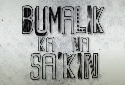 "Font for the: ""Bumalik ka na sa'kin"""
