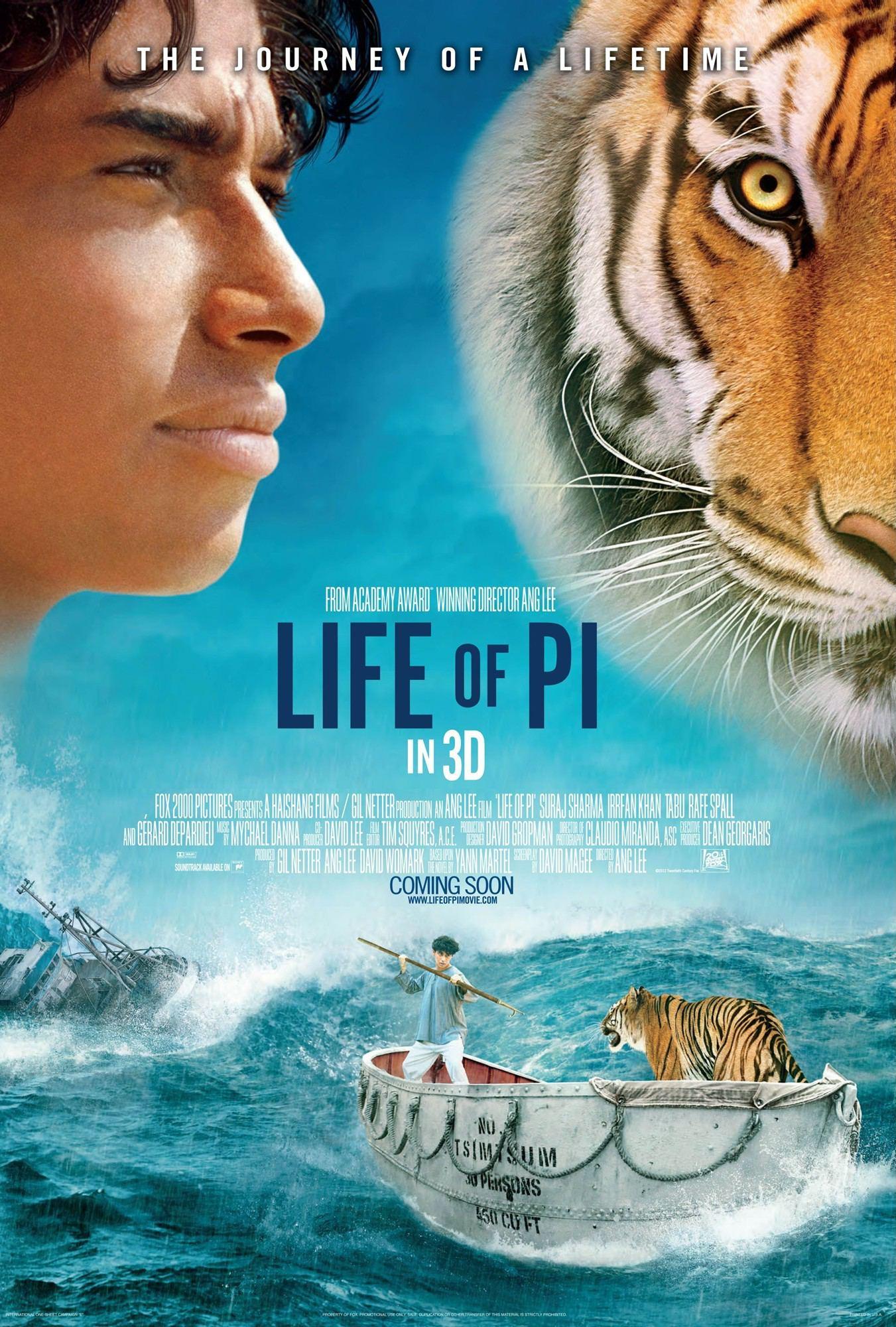 La vida de Pi / Life of Pi