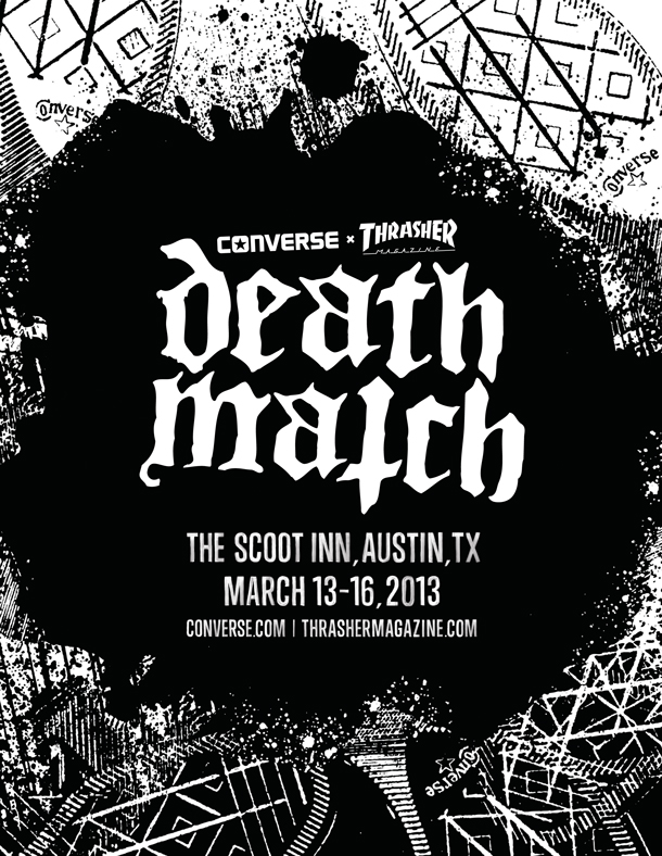 thrasher death match font