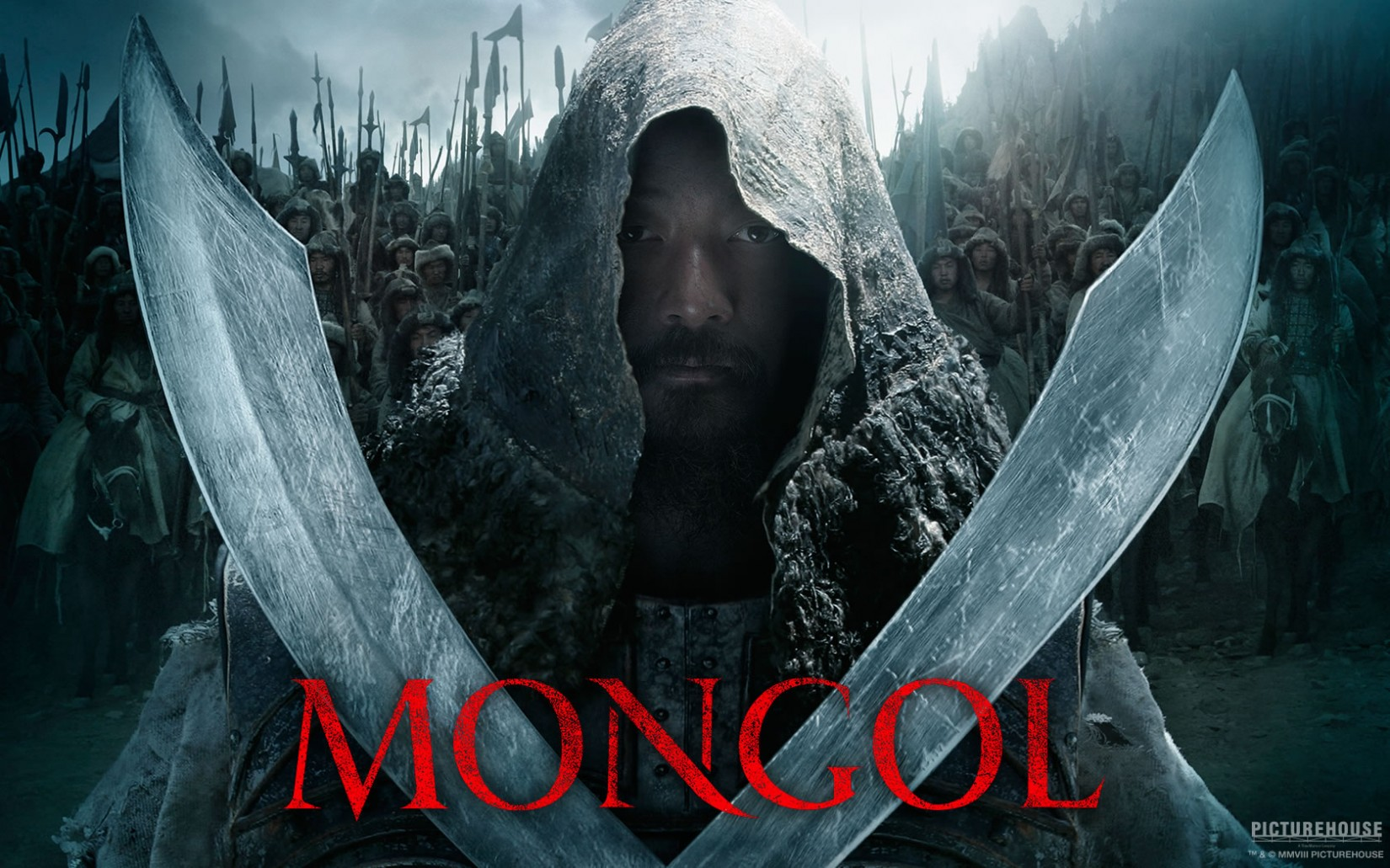 Mongol movie font
