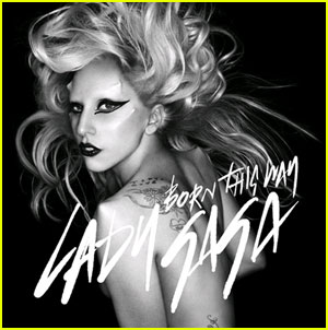 Lady Gaga Born this way - what font is that? ( que fonte � essa?)