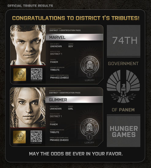 What font is this? from The Hunger Games