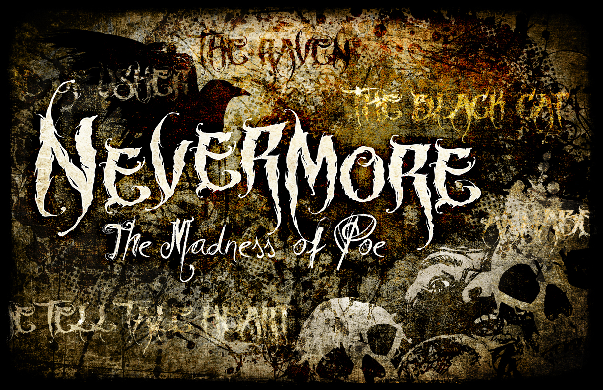 Font name?? (Nevermore)