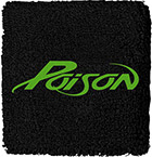poison band font?