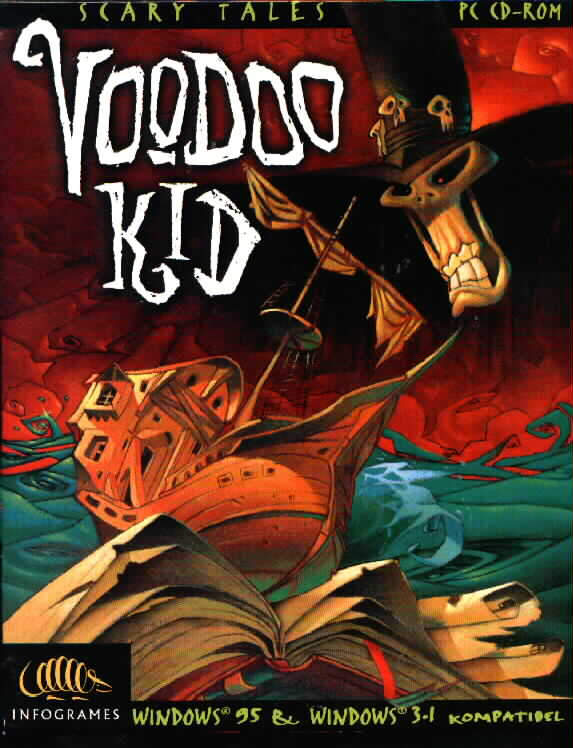 What font is it? Voodoo Kid title