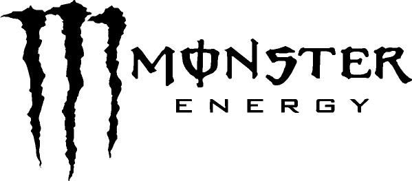 Monster Logo Font Free Download Font in Logo Monster Energy