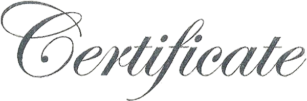 Certificate s font forum dafont