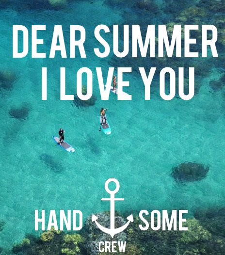 "Font of ""DEAR SUMMER - I LOVE YOU"""