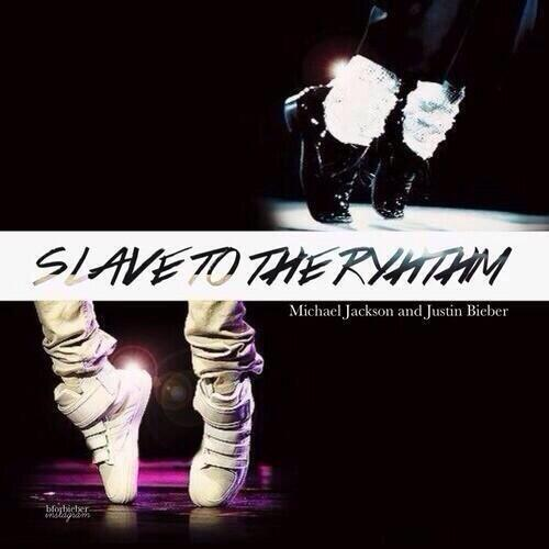 slave to the rhythm font?
