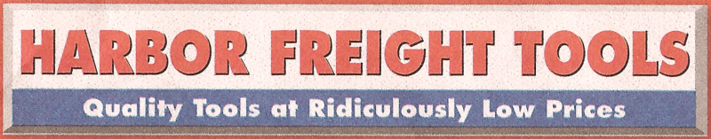 """HARBOR FREIGHT TOOLS Quality Tools at Ridiculously Low Prices"" Font"