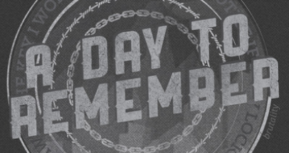 A Day To Remember Font?