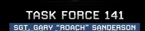 MW2 loading Video font?