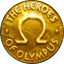 What is this font? It's used in the logo of The Heroes of Olympus,