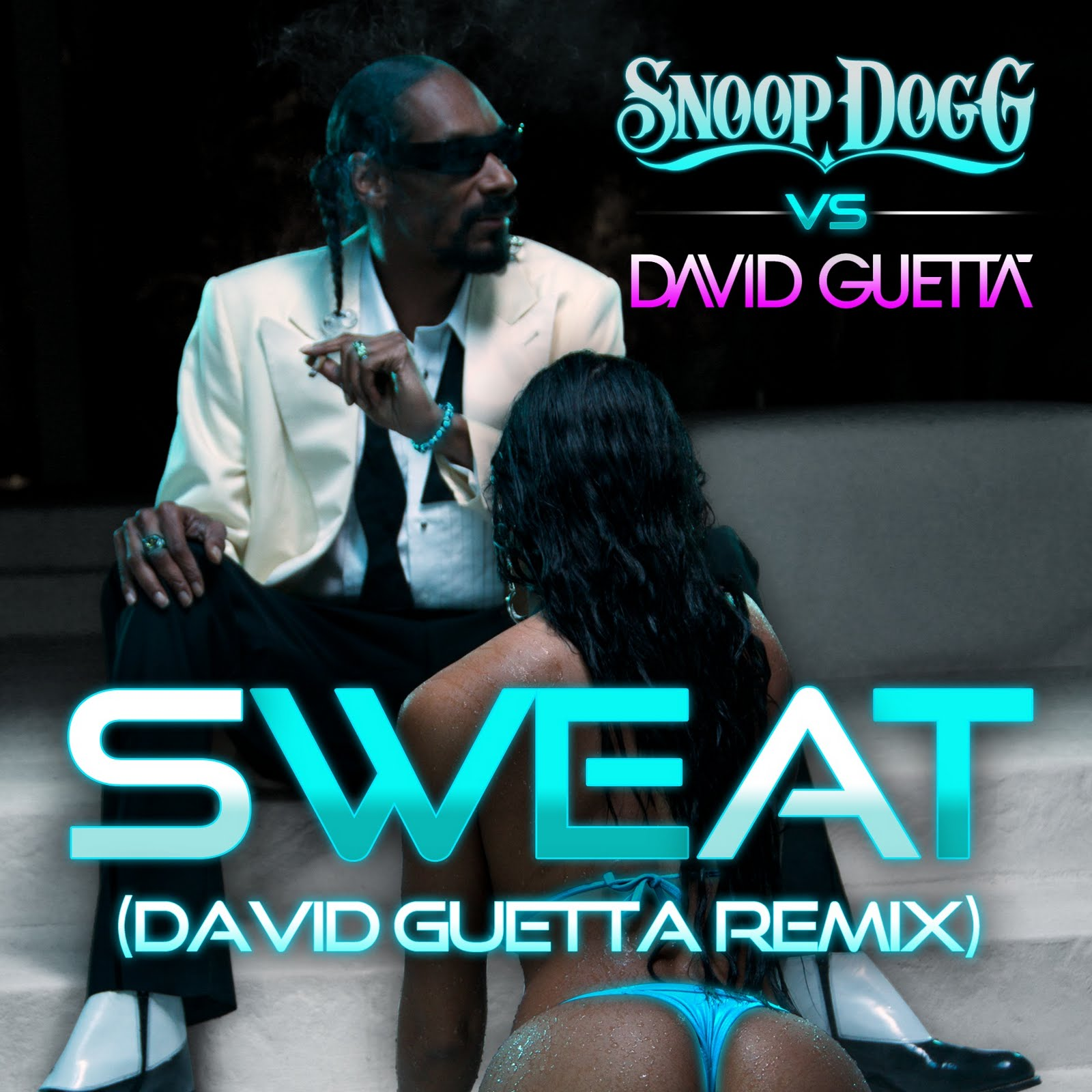 David Guetta - SWEAT - font