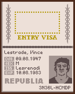 Papers, Please Font