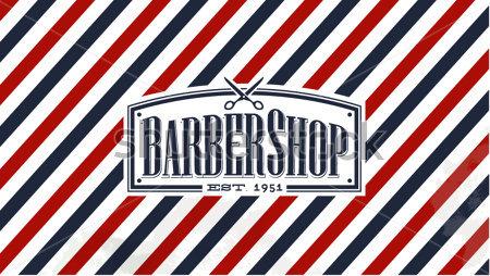 Barber Font : barber shop font
