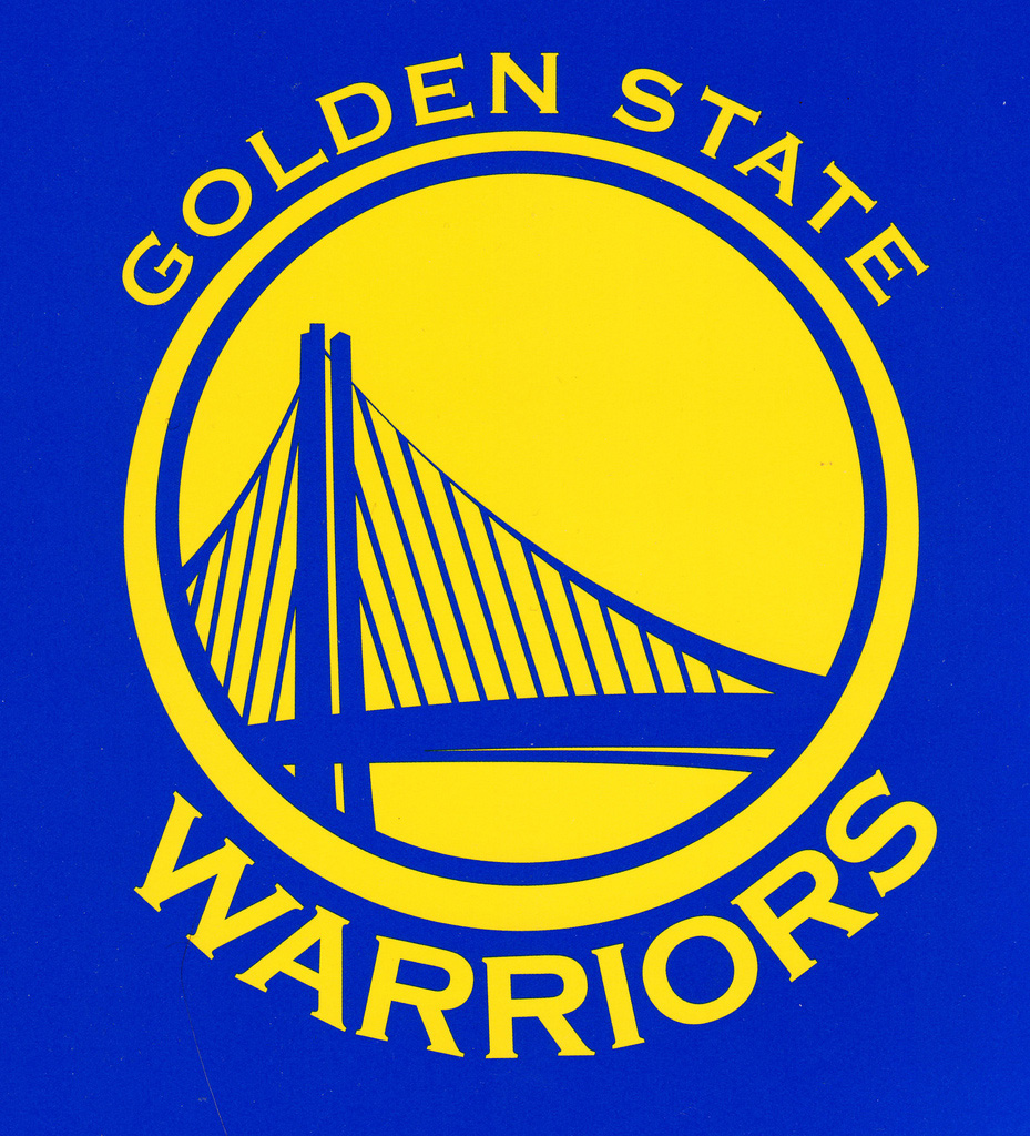 golden state warrior font