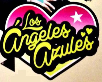 los angeles azules font