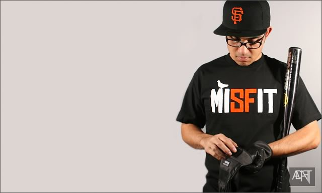 Please identify Adapt's MISFITS Shirt Font