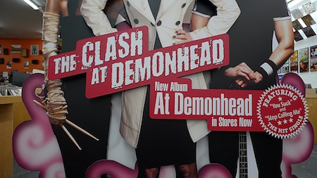 The Clash at Demonhead font?