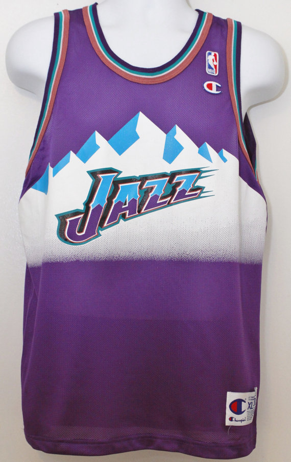 2a267c64475 Utah Jazz 90s jersey font - forum