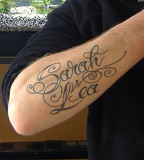 Fabuleux Police d'écriture d'un tatouage - forum   dafont.com PO25