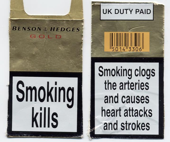 SMOKING KILLS FONT