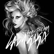 Born This Way font?