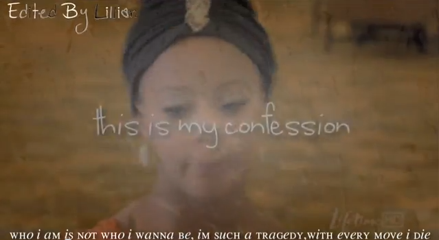 """this is my confession"" font?"