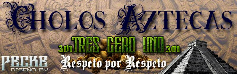 CHOLOS AZTECAS FONT PLEASE ..!