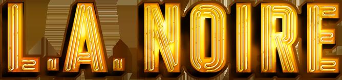 Resultado de imagem para L.A. Noire - The Complete Edition logo png