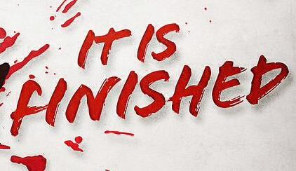 "what is this Font ""It is Finished"""