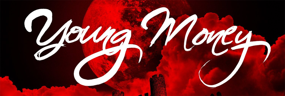 The title of the (Young Money) font?