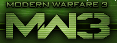CALL OF DUTY MW3. What two fonts are these, top and bottom?