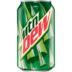 What Is The MTN Dew Font!?