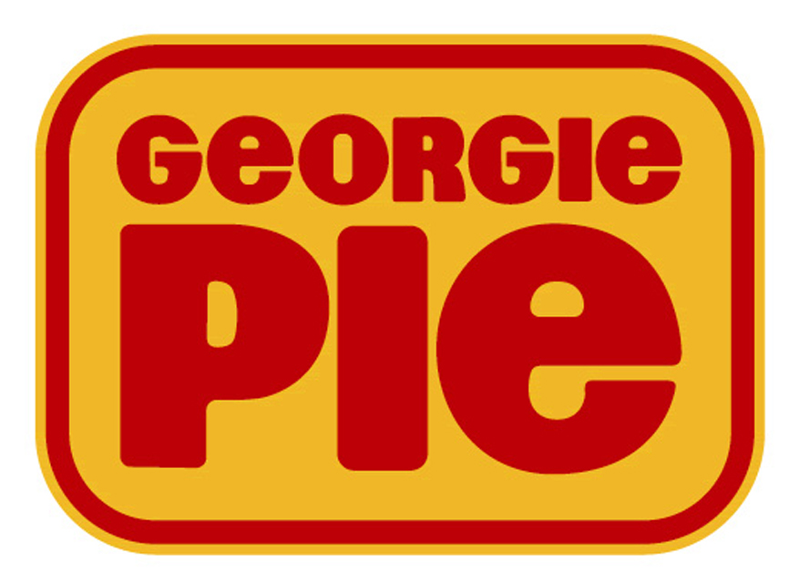 NZ Georgie Pie's 1960 font.