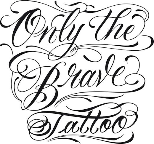 Diesel Only The Brave Tattoo Forum Dafontcom
