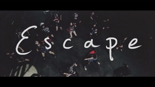 What's the font used for the word 'Escape'?