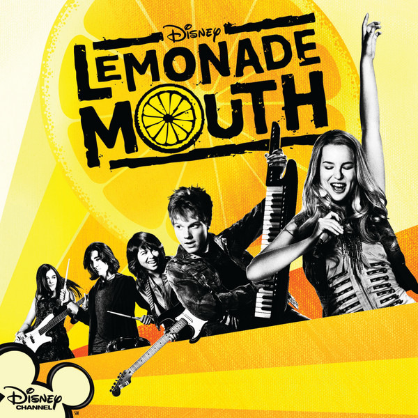 "What is the font used for Disney's ""Lemonade Mouth""?"