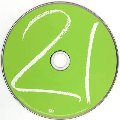 Adele 21 CD - NOT CASE